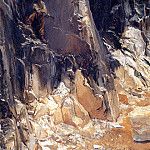 Marble Quarries at Carrara, John Singer Sargent