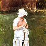 Girl with a Sickle, John Singer Sargent