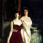 Ena and Betty, Daughters of Asher and Mrs. Wertheimer, John Singer Sargent