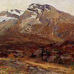 John Singer Sargent - Coming Down from Mont Blanc