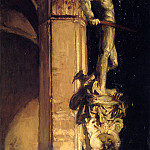 Statue of Perseus by Night, John Singer Sargent