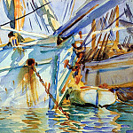 John Singer Sargent - In a Levantine Port