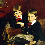 John Singer Sargent - The Sons of Mrs. Malcolm Forbes