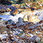 Mountain Stream, John Singer Sargent