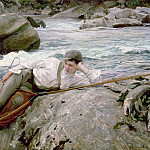 One His Holidays, John Singer Sargent