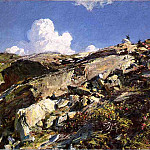In the Alps, John Singer Sargent