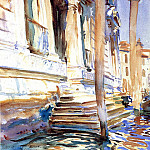Doorway of a Venetian Palace, John Singer Sargent