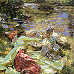John Singer Sargent - The Chess Game
