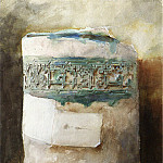 Persian Artifact with Faience Decoration, John Singer Sargent