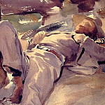 John Singer Sargent - Pater Harrison (also known as Siesta)