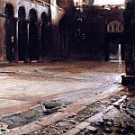 Pavement of St. Marks, John Singer Sargent