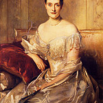 Mrs. Mahlon Day Sands , John Singer Sargent