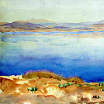 The Lake of Tiberias, John Singer Sargent