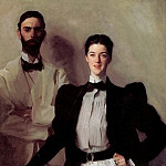 Mr. and Mrs. Isaac Newton Phelps Stokes, John Singer Sargent