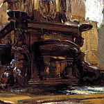 John Singer Sargent - Fountain at Bologna