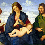 part 06 Hermitage - Catena, Vincenzo - Madonna and Child with John the Baptist and St. Peter
