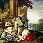 part 06 Hermitage - La Hire, Laurent de - Mercury passes Bacchus nymphs on education