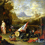 Kessel, Jan van the Elder – Venus in the smithy of Vulcan, part 06 Hermitage