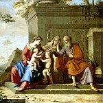 Cauchy Pierre – Holy Family, part 06 Hermitage