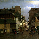 part 06 Hermitage - Kleyneh, Oskar Conrad - City street with a procession