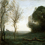 Corot, Jean-Baptiste Camille – Morning, part 06 Hermitage