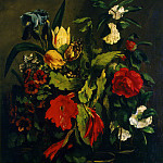 Courbet, Gustave – Flowers, part 06 Hermitage