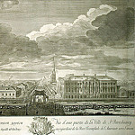 part 06 Hermitage - Kachalov, Gregory Anikievich - View of Nevsky Prospekt from the Sinks