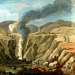 Klerisso, Charles-Louis – View of the crater of the volcano Vesuvius, part 06 Hermitage
