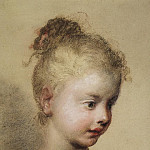 Carriera, Rosalba – Childrens head in profile, part 06 Hermitage