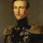 Kruger Franz – Portrait of Grand Duke Konstantin Nikolayevich, part 06 Hermitage