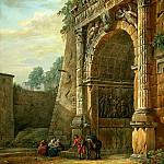 part 06 Hermitage - Klerisso, Charles-Louis - Triumphal Arch of Titus in Rome