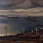 Kent, Rockwell – Christian graves. South Greenland, part 06 Hermitage