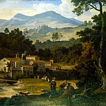 part 06 Hermitage - Koch, Joseph Anton von - Monastery of San Francesco di Civitella in the Sabine mountains