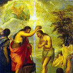 Carreño de Miranda Juan – Baptism of Christ, part 06 Hermitage