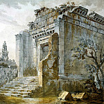 Klerisso, Charles-Louis – Temple of Bacchus in the palace of Diocletian in Split, part 06 Hermitage