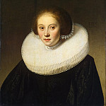 Cape, Jacob Gerritsen – Portrait of a young girl, part 06 Hermitage