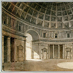 part 06 Hermitage - Klerisso, Charles-Louis - Interior of the Pantheon