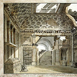 part 06 Hermitage - Klerisso, Charles-Louis - Sketch for painting the east wall of room-ruins