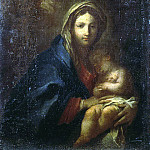 Conca, Sebastiano – Madonna with Child asleep, part 06 Hermitage