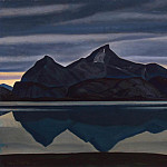 Kent, Rockwell – Gore, reflected in the water. South Greenland, part 06 Hermitage