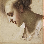 part 06 Hermitage - Carriera, Rosalba - Portrait of a young woman. Etude