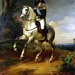 Kruger Franz – Portrait of Alexander I on horseback, part 06 Hermitage