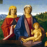 part 06 Hermitage - Catena, Vincenzo - Madonna and Child with saints and donors