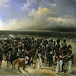 Ladyurner Adolf Ignatevich – Parade of French troops in the presence of King Charles X in October 1829, part 06 Hermitage