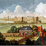 Kessel, Jan III – Panorama of Amsterdam, part 06 Hermitage