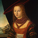 part 06 Hermitage - Cranach, Lucas the Elder - Portrait of a Woman
