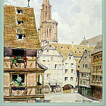 part 06 Hermitage - Cornelius, Mary Lucy - The street and the tower of the cathedral in Strasbourg