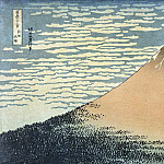 part 06 Hermitage - Katsushika Hokusai - The winning wind, clear day