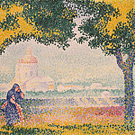 Cross, Henri Edmond – Church of Santa Maria degli Angeli near Assisi, part 06 Hermitage