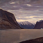 part 06 Hermitage - Kent Rockwell - Cloudy day. Fjord in North Greenland